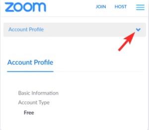 cara delete foto profil zoom