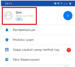 delete tag di getcontact