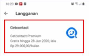 Cara Berhenti Getcontact Premium Di Hp Android