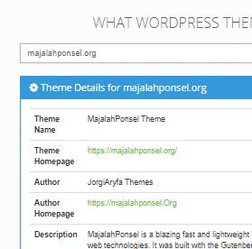 cara mengubah nama tema di wordpress