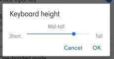 cara mengganti ukuran keyboard hp xiaomi