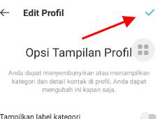 Cara Menyembunyikan Nomor Telepon Dan Email Instagram Di Profil IG