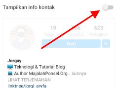 cara hapus kategori instagram