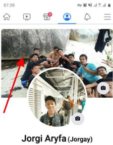 cara menghapus foto sampul di fb