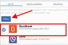 Cara Menghapus Akun Buzzbreak Di Facebook Lewat Hp