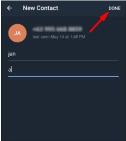 Cara Menambahkan Kontak Di Telegram Dengan Nama Pengguna