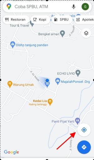 berbagi lokasi di google maps