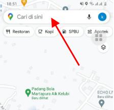 cara tahu jarak di google maps