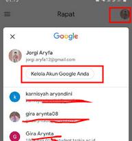cara ganti nama di google meet